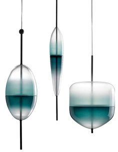 """Bonne pêche - Suspension """"Flow (T)"""" par Nao Tamura - Wonderglass"""