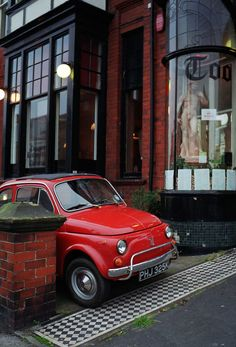 I'm kinda obsessing on classic Fiats lately. -- Curated by Quality Tires Fiat 500 Car, Fiat 126, Vespa, Fiat Cinquecento, New Fiat, Automotive Photography, Cute Cars, Car In The World, My Dream Car