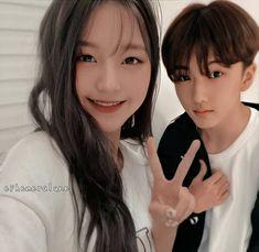 Korean Couple, Young Couples, Ji Sung, Ulzzang Girl, Nct Dream, Siblings, Otp, Conversation, Idol