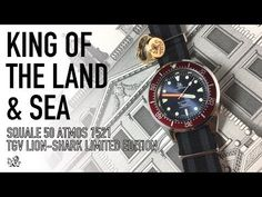 Squale TGV Lion-Shark 1521 Limited Edition – The Most Exclusive Swiss Dive Watch Under $1000