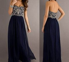 Navy Blue Dresses For Women Formal