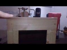 diy crafts decorative cardboard fireplace isa youtube