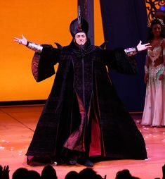 """A bit of Broadway Musical trivia: In the Broadway adaptation of Disney's """"Aladdin"""", which opened in 2014, the villainous Jafar is played by Jonathan Freeman, the SAME man who was the voice actor of Jafar in the animated movie back in 1992. That's right, folks! JAFAR REALLY HAS RETURNED!"""