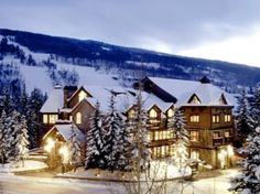 Vail Mountain Lodge, Colorado by D' lightful things