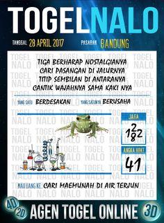 Angka Kode 5D Togel Wap Online TogelNalo Bandung 28 April 2017