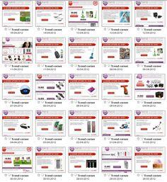 Exemples de ventes Flash proposées en Avril