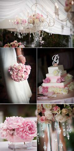 "Pink ""romantic"" wedding theme"