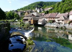 Lods, Franche-Comte, France - Lods is a commune in the Doubs département in the Franche-Comté region in Eastern France.
