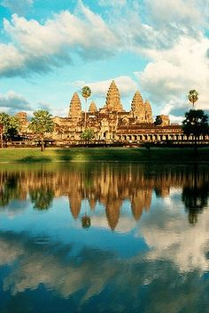 Angkor Wat, UNESCO World Heritage Site. Glad to say l've been there.
