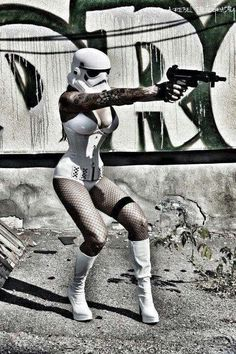 Female Star Wars Stormtrooper