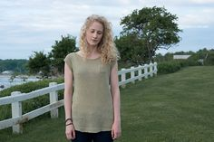 """Ravelry: Palmyra pattern by Allison Jane - knit in Quince and Co """"Sparrow"""", fingering weight linen"""