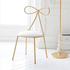 The Emily & Meritt Bow Chair | PBteen