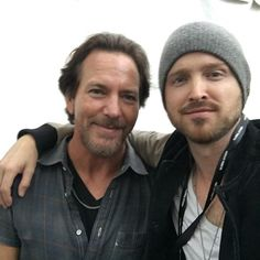 """Aaron Paul contó de su amor por Pearl Jam y el inolvidable día en que compró """"Ten"""" en su cumpleaños"""