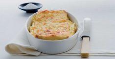 Torta-toast di uova e formaggio