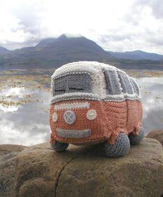 The Knitted VW Camper | VW Camper Blog