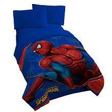 Spider-Man Fleece Throw by Jay Franco & Sons Inc.. $26.88. The Spider-Man Fleece Throw is generously sized 50x60 micro raschel throw features Spiderman in action. Its super soft feel makes it great for sleepovers, wathread counthing TV, playtime or family time. It's machine washable for easy care.