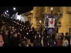 Procesión de la Cofradía del Cristo del Socorro-CARTAGENA-MURCIA - La Semana Santa en España comienza el Viermes Santo con esta procesion.