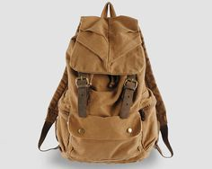 Backpack For Men / travel bag / Briefcase / by CrazyLeatherBag, $59.00