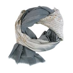 Rannka NYC Double Silver Scarf with Sequins | 2013 Gift Guide: Winter Wonderland | Organic Spa Magazine