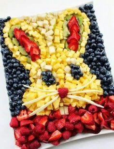 Tasty Easter fruit salad