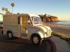 Vintage Divco 300C restored by Laguna Vintage in Laguna Beach, CA