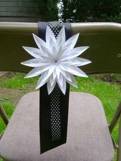 DIY Wedding Challenge 2010: Modern Chair Sash - Project Wedding