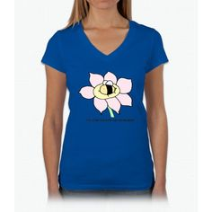 Tired Bee Bee Movie Womens V-Neck T-Shirt