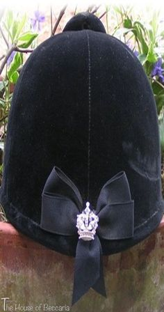 3f75fa60117 ~Velvet Equestrian Helmet With A Royal Touch