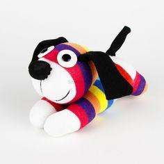 Handmade Colorized Striped Sock Monkey Dog Stuffed Animals Doll Baby Toy | Brinquedos e hobbies, Bichinhos de pelúcia, Outros bichos de pelúcia | eBay!