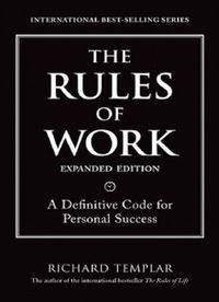 The rules of work, a definitive code for personal success #English #pdfbook #selfhelp #eBooks #Education #pdfbooksin #FreeOnlineBooks #Management #Business #JobHunting #CareerGuides Business And Economics, Aleta, Free Kindle Books, Book Nooks, New Job, Book Lists, Book Lovers, Audio Books, Books To Read