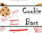 Milk And Cookie Party Printables