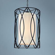 "Sausalito 34 3/4"" High Deep Bronze Pendant Light | LampsPlus.com"