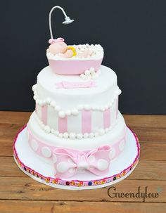 Tarta Baby Shower - it's a girl!