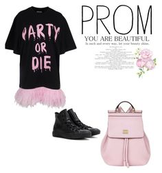 """PARTY OR DIE"" by sh3sh3 on Polyvore featuring Converse and Dolce&Gabbana"