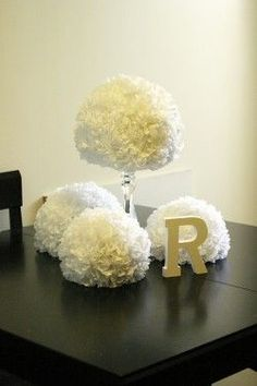 Cute and inexpensive wedding centerpieces... DIY!
