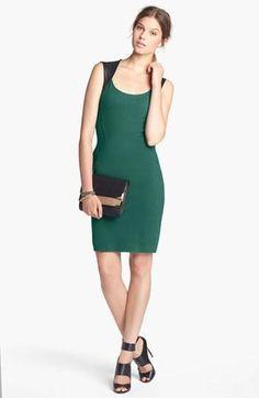 Emerald Sheath Dress