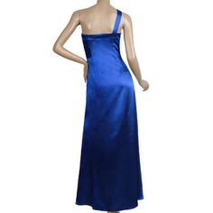Ever-Pretty -Ever Pretty One Shoulder Ruffle Padded Bra Sassy Long Formal Prom Gowns 09322