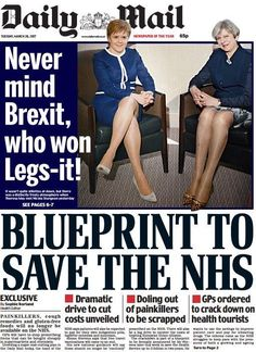"""""""It's 2017. This sexism must be consigned to history. Shame on the Daily Mail."""""""