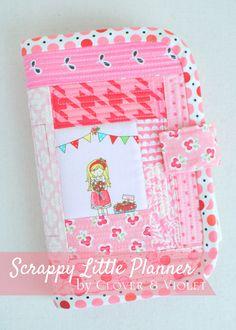 Clover & Violet — Scrappy Little Planner {Tutorial}