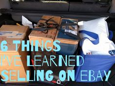 6 Things I've Learned Selling on eBay - sources, inventory, and listings