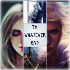 """""""To whatever end"""" Celaena and Rowan"""