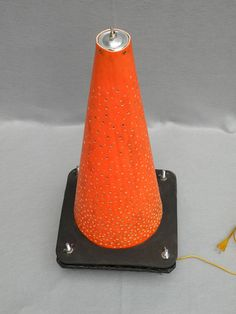 Will Holman - traffic cone light
