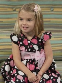 Oh, my gosh! What a little cutie! Baby Charlie (from the Disney show) isn't a baby anymore ;)