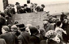 Stropkov, Slovakia, Deportation of Jews by the Slovakian militia, 21/05/1942.