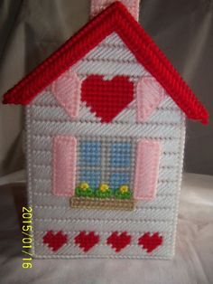 Plastic Canvas Tissue Boxes, Plastic Canvas Crafts, Plastic Canvas Patterns, Diy Crafts For Gifts, Crafts To Make, Crafts For Kids, Crochet Humor, Monster High Dolls, Tissue Box Covers