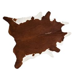 Add a touch of luxury to your home with our truly unique natural cow hide rugs. You can be certain that no two rugs are the same!   Enjoy our full Bovine Cowhides originating from South America with their spectacular unique markings provide ideal superb natural coverings for stone and/or wooden floors.   All our cow hide rugs are carefully selected for quality, and balance of markings.   Colour: Brown and White (unprinted, natural colours).  Size: 45-50 sq ft      Colour and marking...