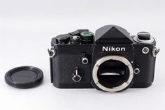 Nikon F2 35mm SLR Film Camera Body w/DE-1 Prism Finder