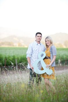 """#engagement session. Love the &! It could be part of the """"guess book""""! And then put up in the home!"""