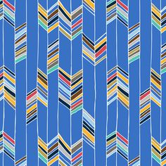 stripes in strips. This could be a fun and easy baby quilt idea
