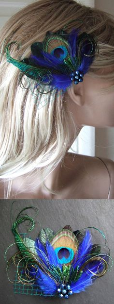Wedding guest hairstyles with fascinator fascinators 66 ideas for . - Wedding guest hairstyles with fascinator fascinators 66 ideas for … – Wedding gue - Blue Fascinator, Bridal Fascinator, Wedding Fascinators, Flower Headpiece, Wedding Hats, Trendy Wedding, Bridal Hair, Wedding Songs, Headpieces